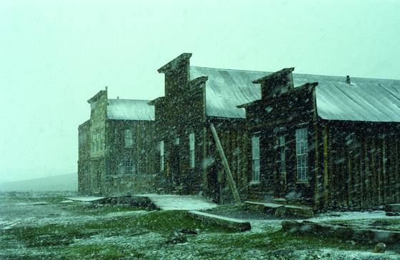First snow at bodie