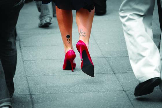 Red heels   tattoos