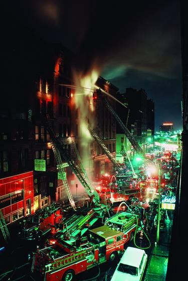 South street 5 alarm fire