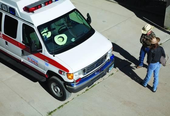 Rodeo ambulance