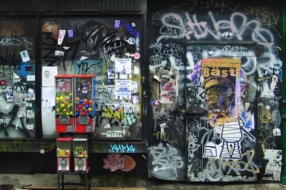 Gumballs and graffiti