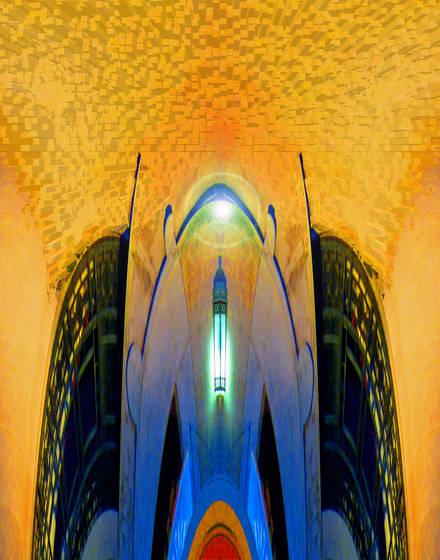 Klingon temple entrance