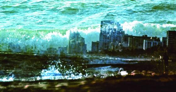 Dania under water