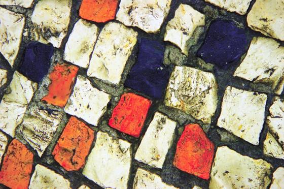Street mosaic