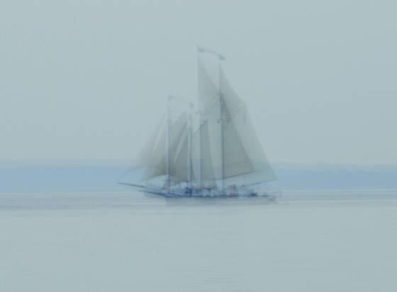 Ghost schooner