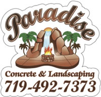 Website for Paradise Concrete