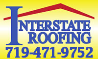 Website for Interstate Roofing Inc