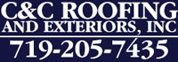 Website for C & C Roofing and Exteriors Inc