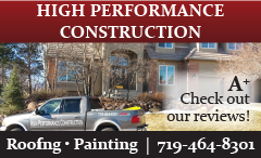 Website for High Performance Construction, LLC