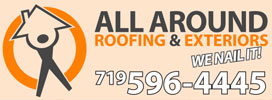 Website for All Around Roofing and Exteriors