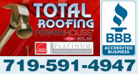 Website for Total Roofing