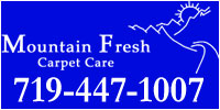Website for Mountain Fresh Carpet Care