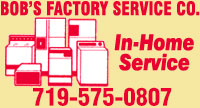 Website for Bob's Factory Service Company