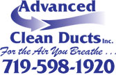 Website for Advanced Clean Ducts Inc
