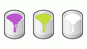 Color Scheme with #BD55D0 #C0DF34 #FFFFFF