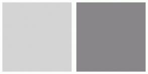 Color Scheme with #D4D4D4 #89868A