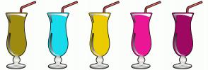 Color Scheme with #9E8B10 #17DBEB #EBCC00 #EB1795 #9E0861