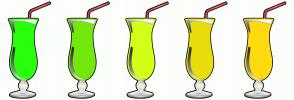 Color Scheme with #2AFF0D #73E80C #D3FF19 #E8DE0C #FFDB0D