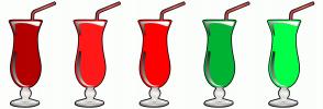 Color Scheme with #B30000 #FF1919 #FF0000 #00B333 #00FF48