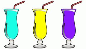 Color Scheme with #19FFE5 #FFFF00 #8A19FF