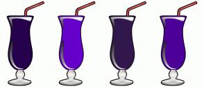 Color Scheme with #26004D #6600CC #32174D #4C0099