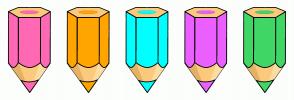 Color Scheme with #FF69B4 #FFA500 #00FFFF #EB60FF #40D767