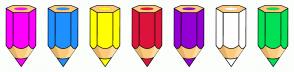 Color Scheme with #FF00FF #1E90FF #FFFF00 #DC143C #9400D3 #FFFFFF #00E156