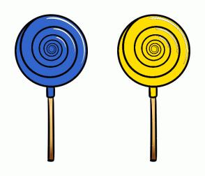 Color Scheme with #3366CC #FFDE00