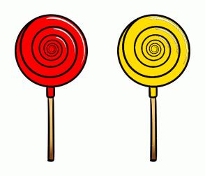 Color Scheme with #FF0000 #FFDE00