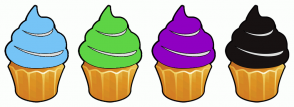 Color Scheme with #76C4F6 #5ED445 #8F00C2 #171212