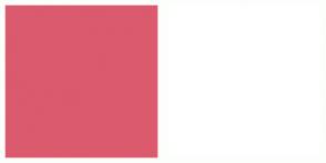 Color Scheme with #DB5A6E #FFFFFF