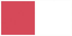 Color Scheme with #D64958 #FFFFFF