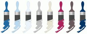 Color Scheme with #206BA4 #BBD9EE #EBF4FA #C0C0C0 #E7E4D3 #AE235D #6A5A5B #003366