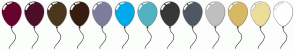 Color Scheme with #66042D #4D0F28 #4B371C #371D10 #7E7D9C #00AAE8 #52B2C0 #373737 #4F5864 #C0C0C0 #D7B963 #ECDD9A #FFFFFF