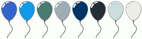 Color Scheme with #3366CC #0F9BEB #4A7B6F #9EAEB3 #003366 #242E35 #CCDDDD #EEEEE7
