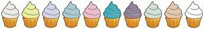 Color Scheme with #EEEDE8 #EDF29E #D4D6EB #A8CDD3 #EFBFCB #40B0BE #93839D #D5E3D6 #E7C7AE #FFFFFF