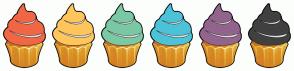 Color Scheme with #F16745 #FFC65D #7BC8A4 #4CC3D9 #93648D #404040