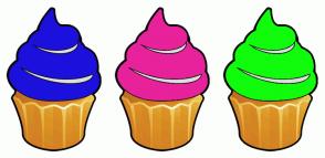 Color Scheme with #1C10DD #E7229B #11FB0D