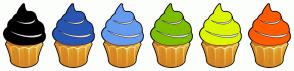 Color Scheme with #000000 #2956B2 #659CEF #7DBD00 #DCF600 #FF5B00