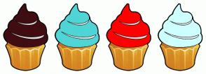 Color Scheme with #400D12 #4FD5D6 #FF0000 #CDFFFF