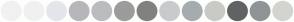 Color Scheme with #F1F1F2 #F0F0F2 #E3E6EB #B7B6BA #BBBCBF #9C9C9C #81817F #C9CACE #A5ACAF #C9CAC5 #616264 #8F9596 #D3D4D0