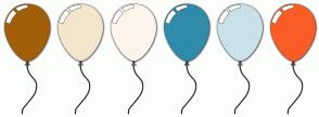 Color Scheme with #A25F08 #F4E6CC #FCF5EB #2F8CAB #C9E2E9 #F95D25