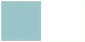 Color Scheme with #9CC5C9 #FFFFFF