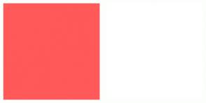 Color Scheme with #FF5959 #FFFFFF