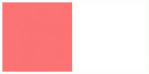 Color Scheme with #FB7374 #FFFFFF
