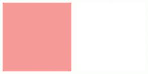 Color Scheme with #F69A98 #FFFFFF
