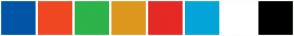 Color Scheme with #F35001 #FEAE17 #FEE71B #ABCB42 #5C7943 #FFFFFF #000000