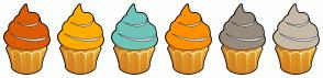 Color Scheme with #DC5C05 #FFAC00 #6EC5B8 #FF9000 #978B7D #C7BAA7
