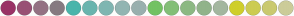 Color Scheme with #993366 #995175 #947283 #867B81 #4AB5AB #69B5AE #7FB6B1 #92B5B2 #99B0AE #73C263 #83BF77 #8CB983 #91B38A #A3B79F #CFCF2C #CCCC52 #CACA6F #CCCC99