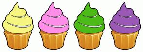 Color Scheme with #F6F57F #FF8FE9 #4CBB17 #9B59B6